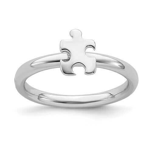 Autism Awareness Puzzle Ring