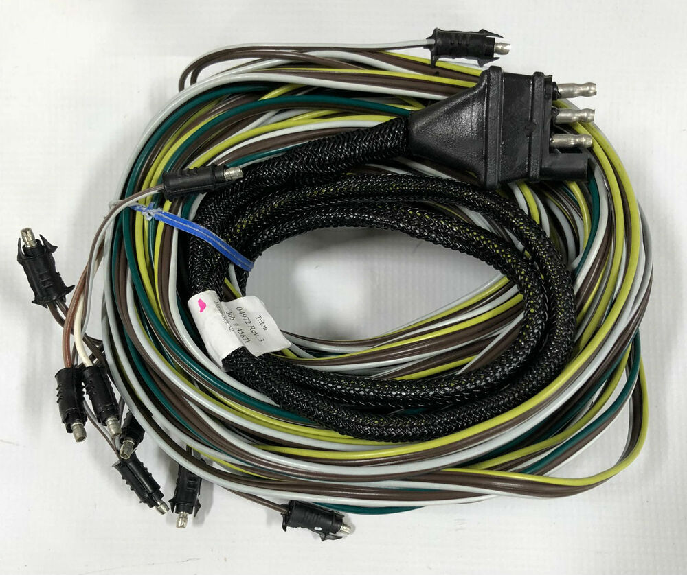 Wiring Harness For Pontoon Boat : Triton pontoon trailer wire harness ebay