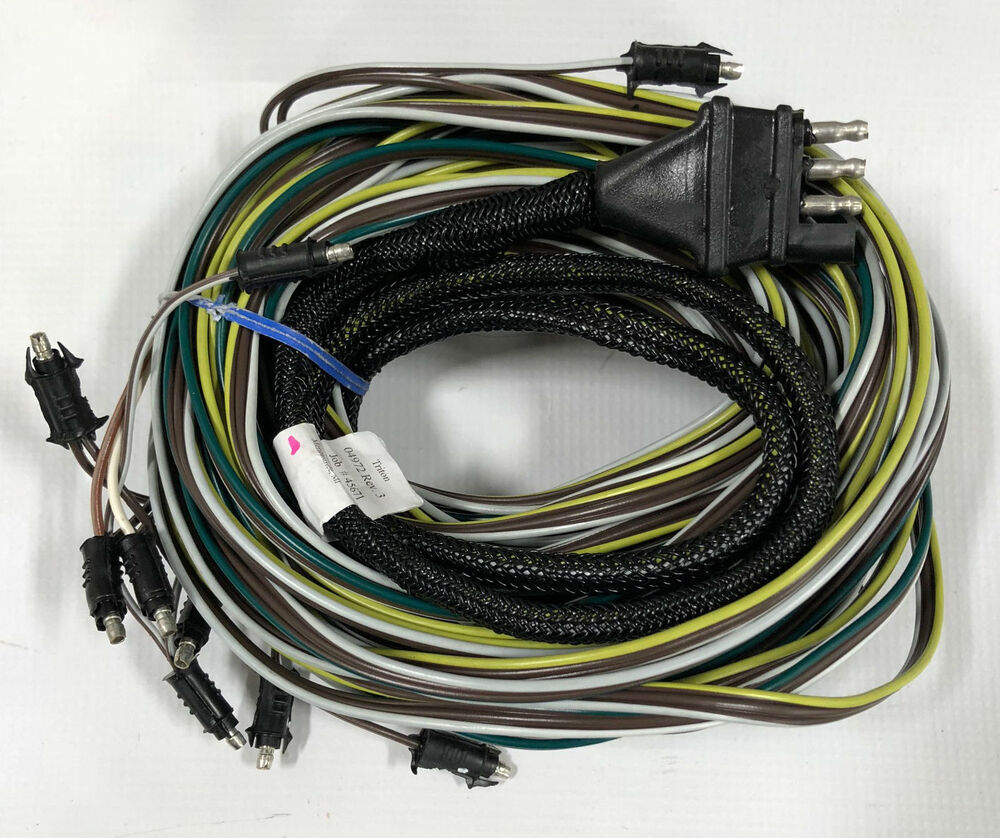 triton wiring harness triton 04972 pontoon trailer wire harness | ebay