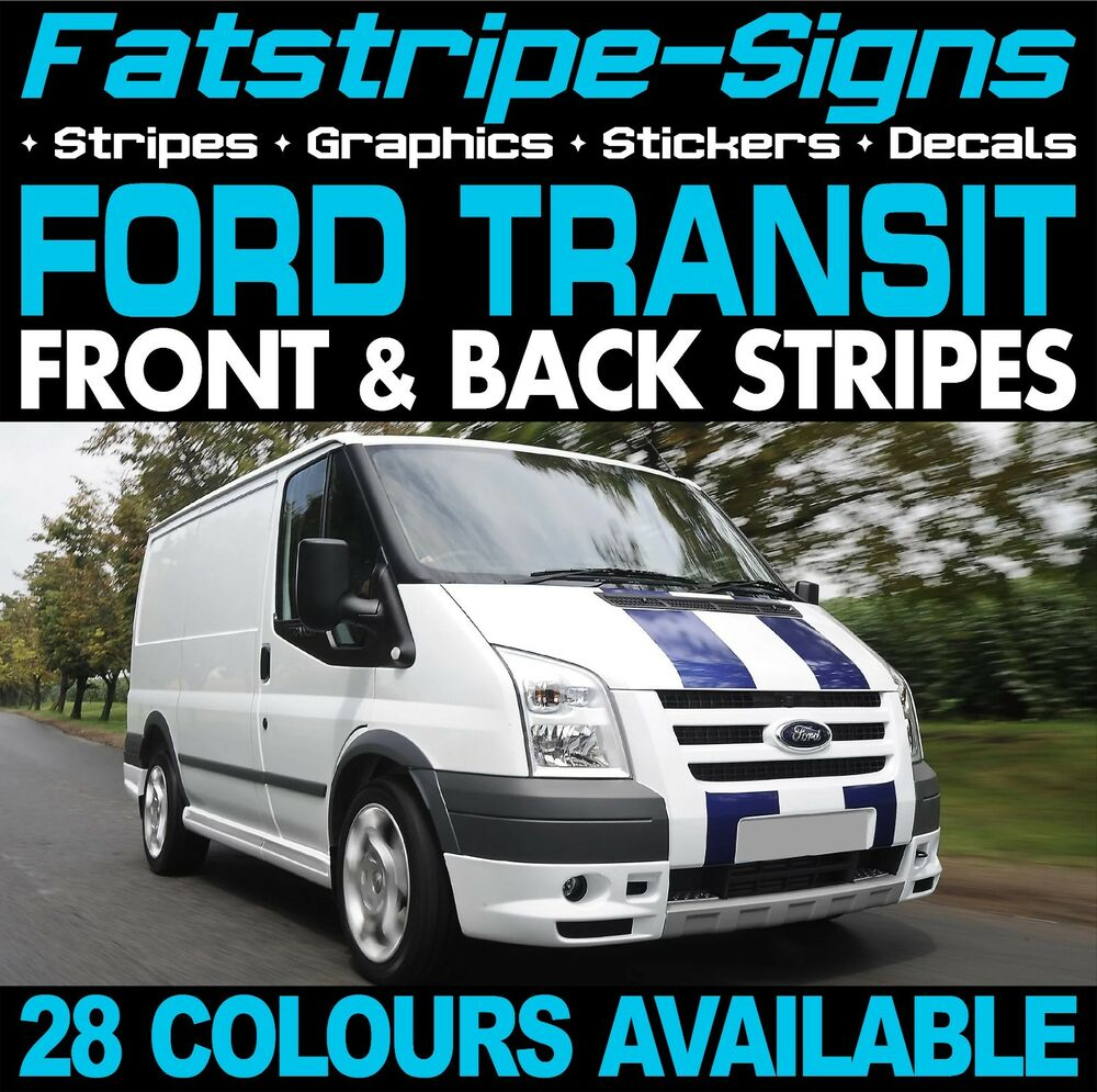 Ford Transit St Stripes Graphics Stickers Decals Viper