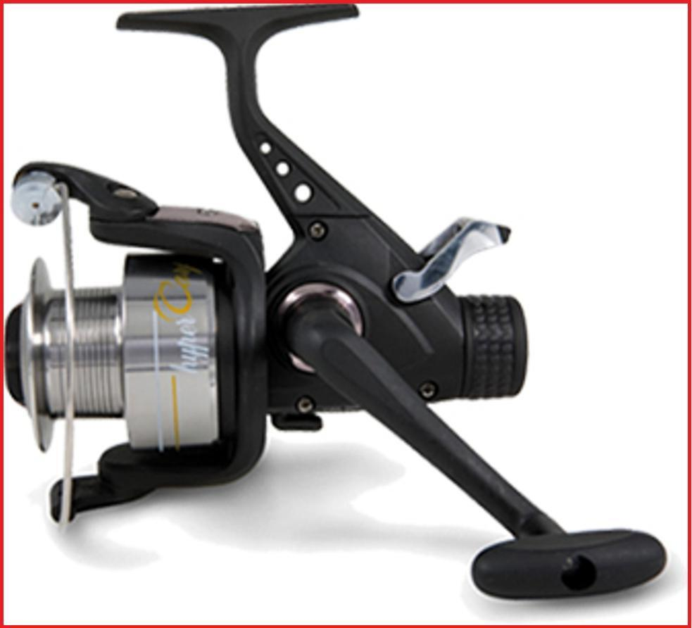 Hypercarp freespool carp fishing reels bait switch ebay for Ebay fishing reels