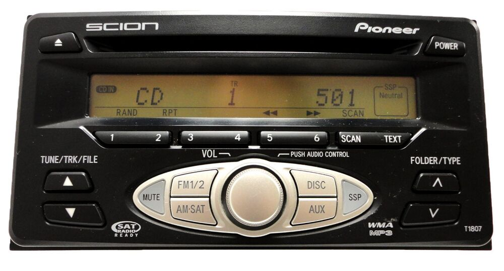 scion xa xb tc xd am fm radio stereo stereo sat mp3 cd. Black Bedroom Furniture Sets. Home Design Ideas