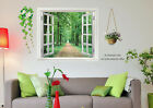 Removable Wall Decals Vinyl Decor Sticker 3D Boulevard Window View 2