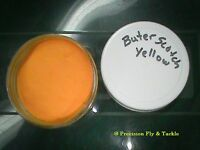 1 OZ JAR - BUTTERSCOTCH  -  POWDER PAINT -- FISHING JIGS, SPOONS, LEAD HEADS