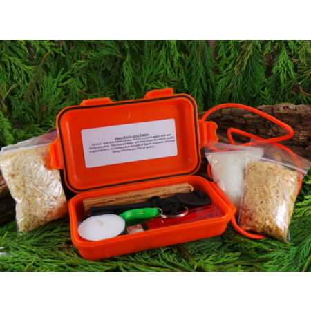 img-ULTIMATE WATERPROOF BUSHCRAFT/SURVIVAL FIRELIGHTING KIT IDEAL FOR SCOUTS HIKING