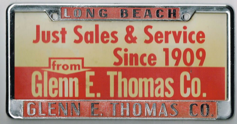Long Beach California Glenn E Thomas Dodge Vintage Dealer