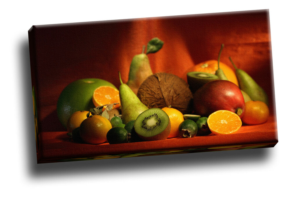 Big collection of fruit giclee canvas kitchen dining for Ebay dining room wall art