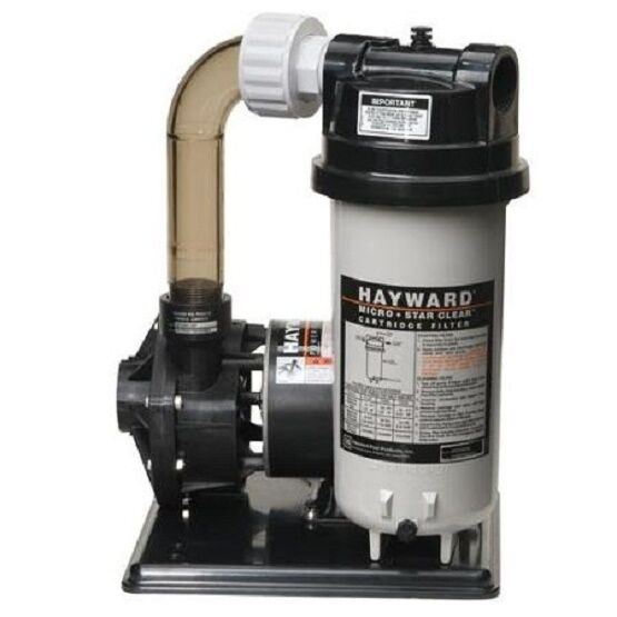 Hayward micro star clear cartridge filter system - Hayward swimming pool ...