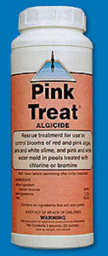 Pink Treat Algaecide United Chemical Corporation 2lbs Swimming Pool Pink Slime Ebay