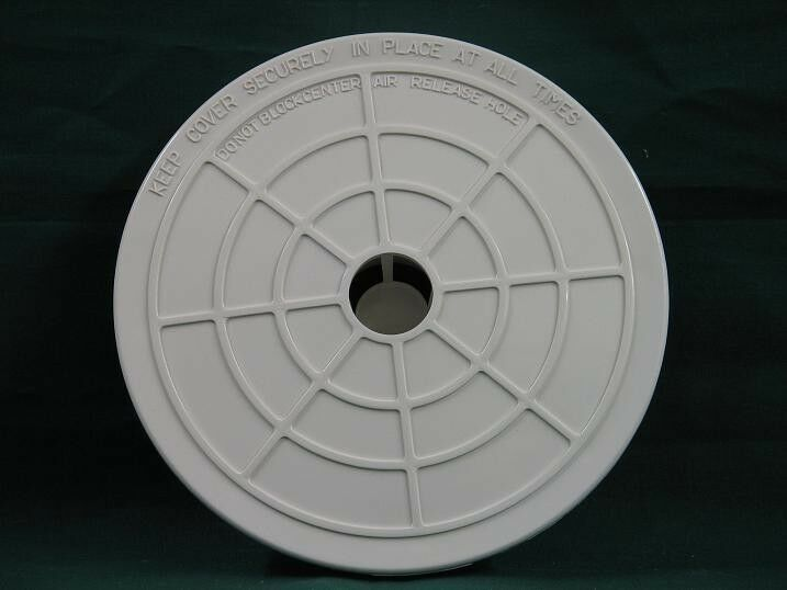 Genuine hayward cover round skimmer lid spx1094c for - Swimming pool skimmer basket covers ...