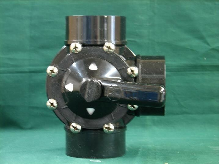 Hayward Pool Products Psv Diverter Valve 1 5 Quot 2 Quot 3 Way