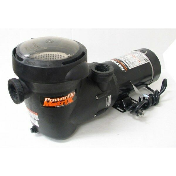 Genuine Hayward Above Ground Swimming Pool Pump Power Flo Matrix 1 5 Hp Sp1593tl Ebay