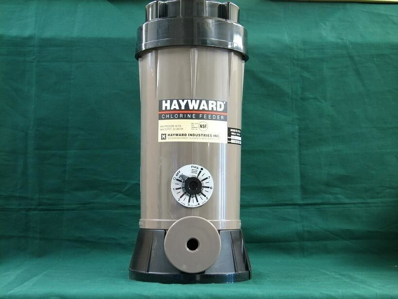 Hayward Inground Swimming Pool Chemical Feeder Off Line Chlorinator Cl220 Ebay