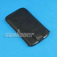 For Nokia Lumia 920 Leather Case Skin Cover Sleeve Pouch with Pull Tab