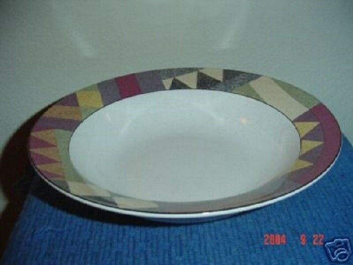mikasa studio nova palm desert serving bowl ebay