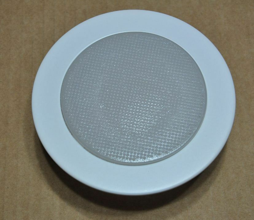 Canned Light Lenses : Quot inch recessed can v light frosted glass albalite
