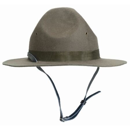 img-WW2 US Army USMC DRILL INSTRUCTORS HAT - All Sizes - American Military Head Gear