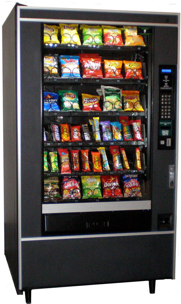 Crane National 147 Snack Vending Machine for Candy and ...