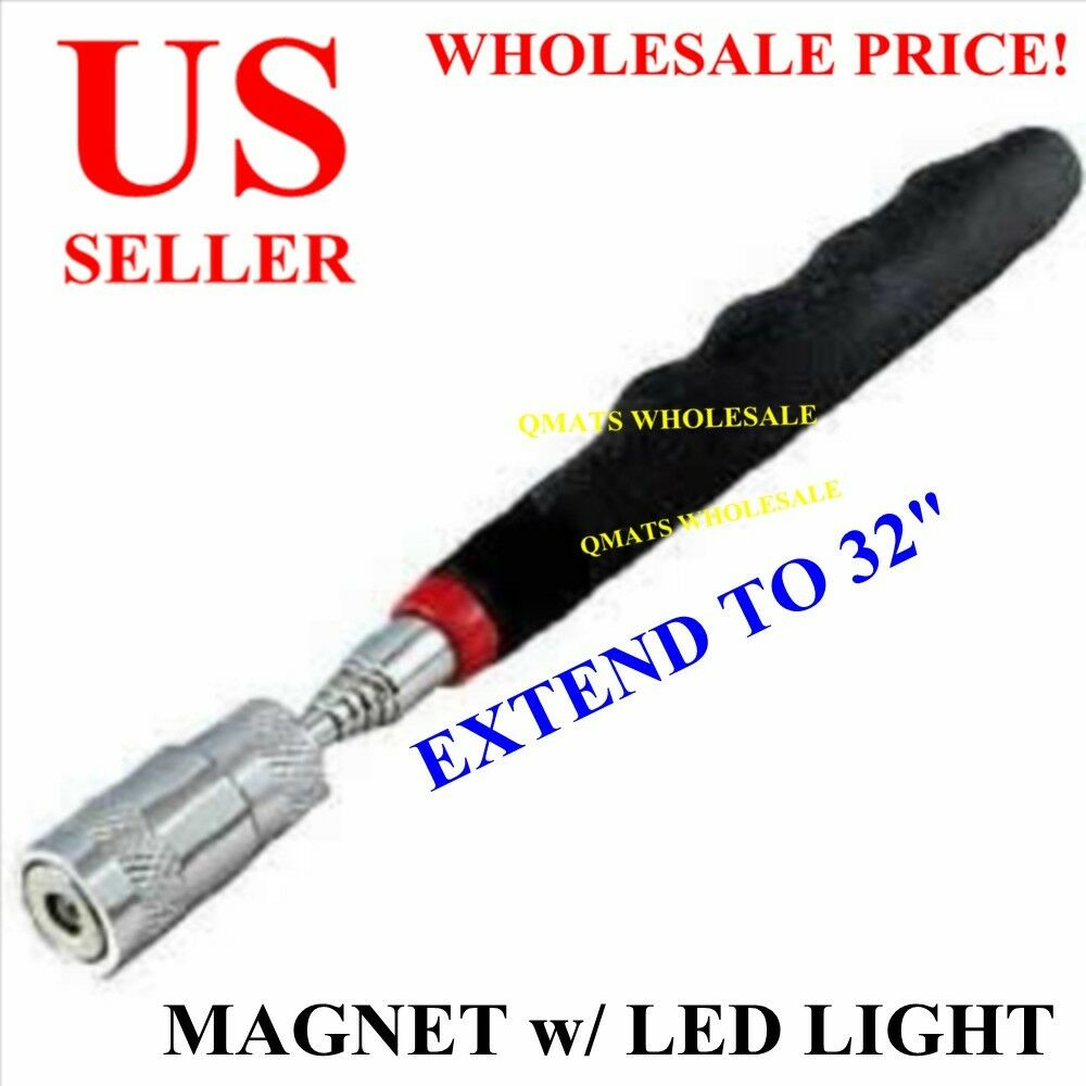 MAGNET WITH LED LIGHT PICK UP TOOL STRONG MAGNETIC ...
