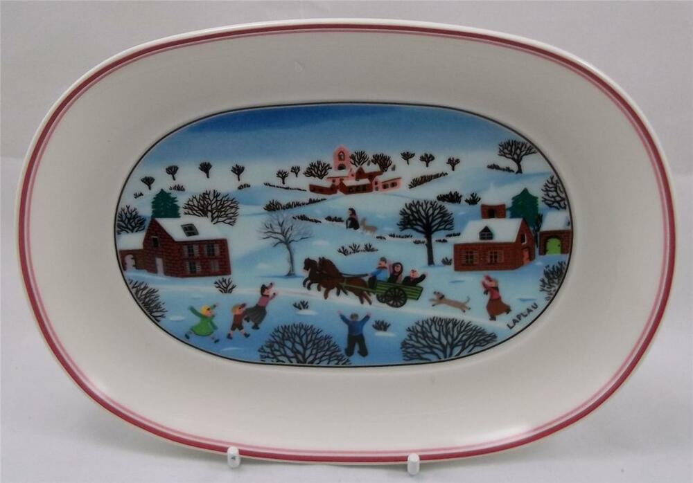 Villeroy and boch naif christmas laplau new pickle for Villeroy boch christmas