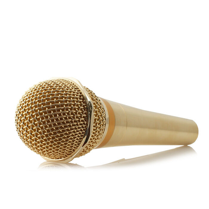 audiotrak atm 24k microphone with 24k gold plated dynamic microphone ebay. Black Bedroom Furniture Sets. Home Design Ideas