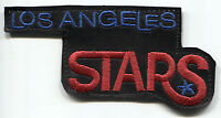 "1968-69 LOS ANGELES STARS ABA BASKETBALL HARDWOOD CLASSICS 4.5"" TEAM LOGO PATCH"