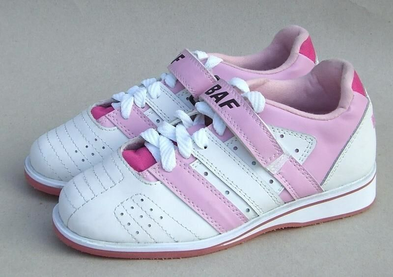 b a f lifting shoes pink powerlifting