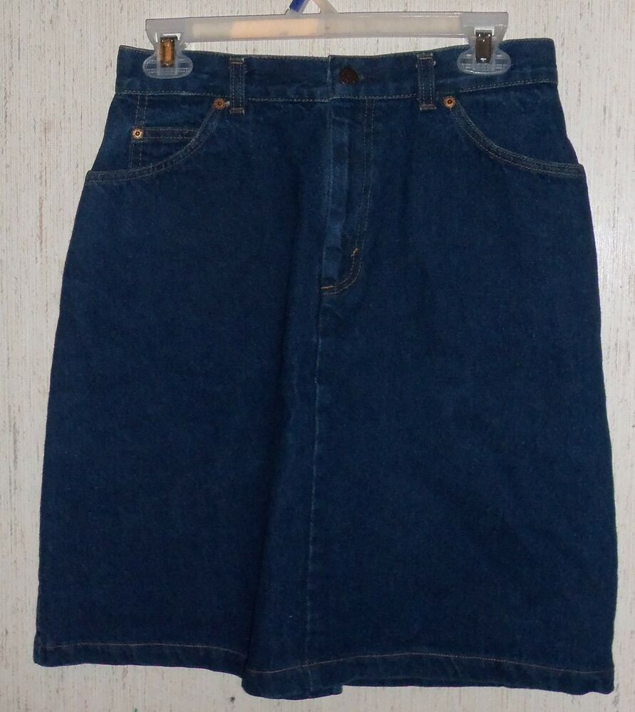 excellent womens juniors levi s white tab blue jean
