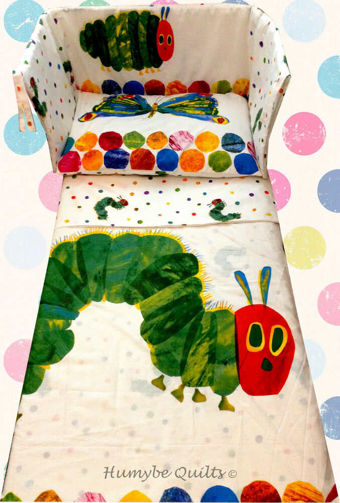 The Very Hungry Caterpillar New Bedding Set All Sizes