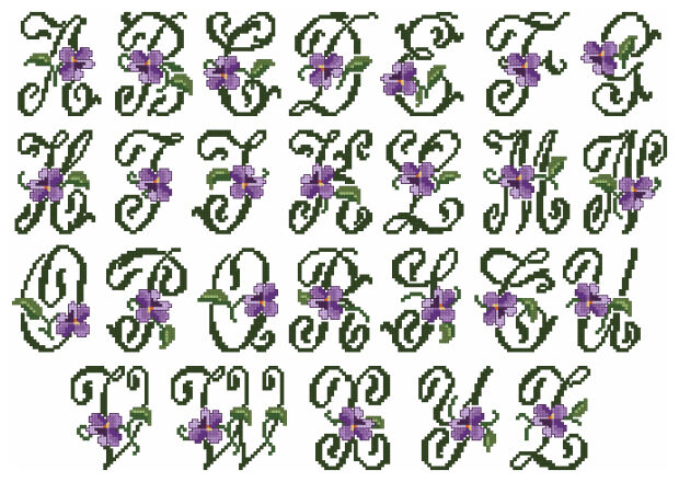 Abc Embroidery Designs Free