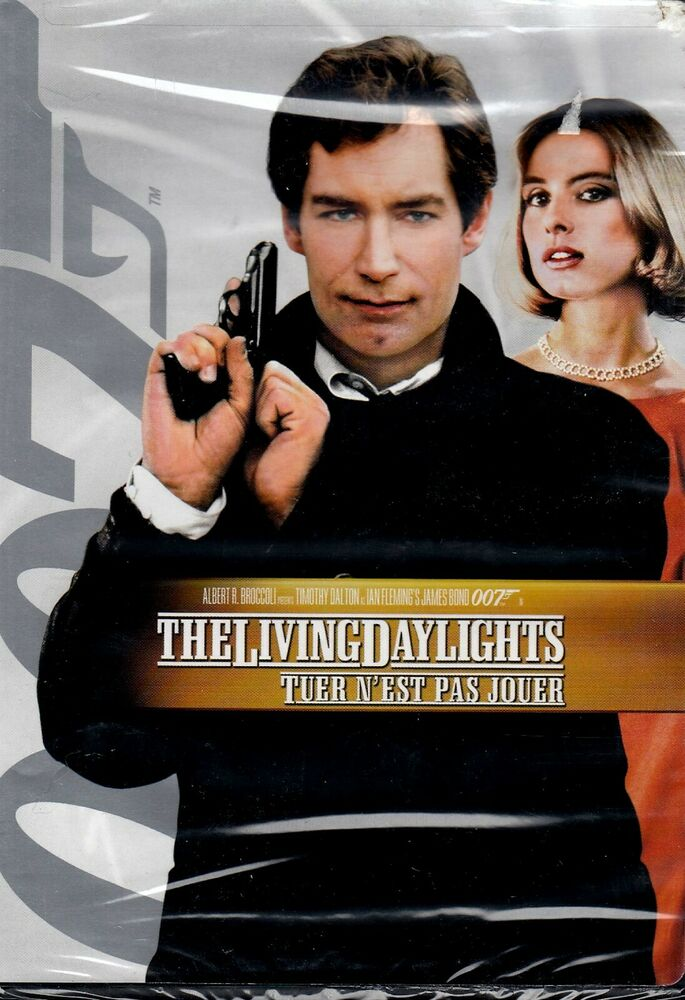 new dvd the living daylights timothy dalton maryam d 39 abo james bond 27616073945 ebay. Black Bedroom Furniture Sets. Home Design Ideas