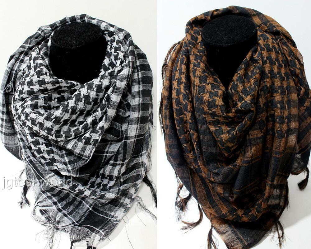 Women Men Fashion Arab Shemagh Keffiyeh Palestine Scarf ...