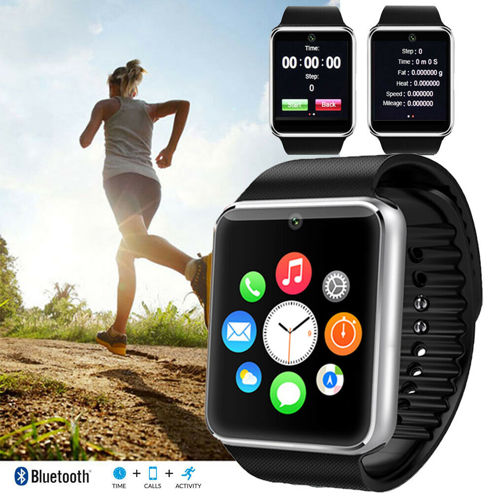 unlocked gsm touchscreen watch phone w free bluetooth earset at t t mobile ebay. Black Bedroom Furniture Sets. Home Design Ideas