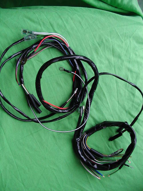 New Main Wiring Harness    Loom For C11g C12 1954