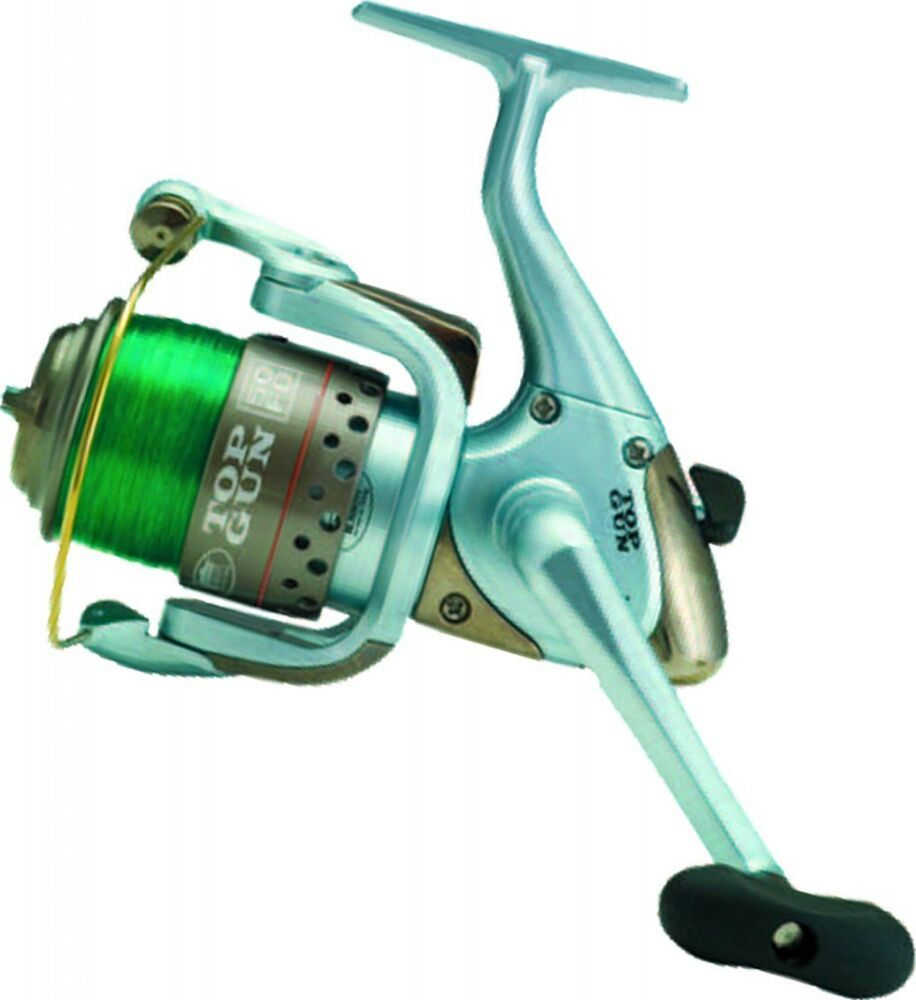 Pier rock top gun front drag sea fishing reel with line for Best fishing line for spinning reels