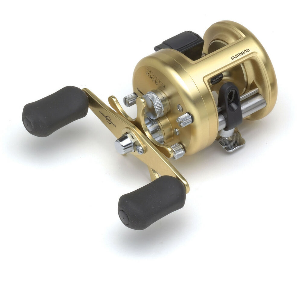 Shimano calcutta 100b fishing reel ct100b right hand ebay for Ebay fishing reels