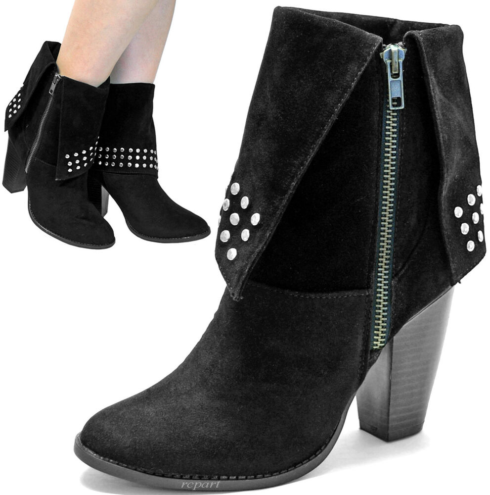 New Womenu0026#39;s Shoes Ankle Boots Booties Fashion Suede Like ...