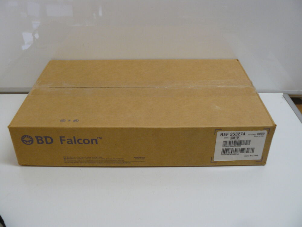 new bd falcon 353274 384 well tissue culture treated plates flat bottom w lid ebay. Black Bedroom Furniture Sets. Home Design Ideas