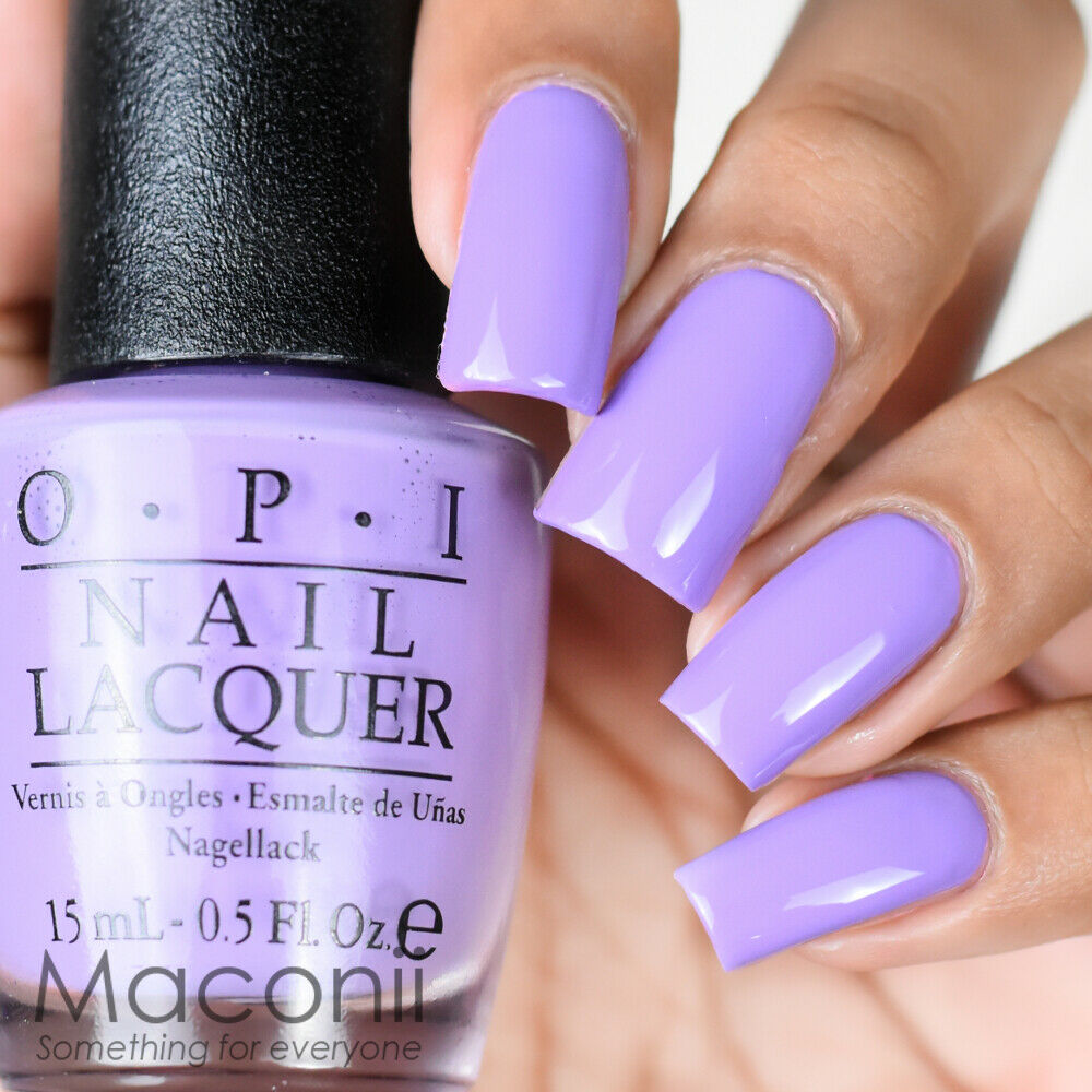 Nail Polish For Baby: B29 Lilac Pale Baby Violet Purple