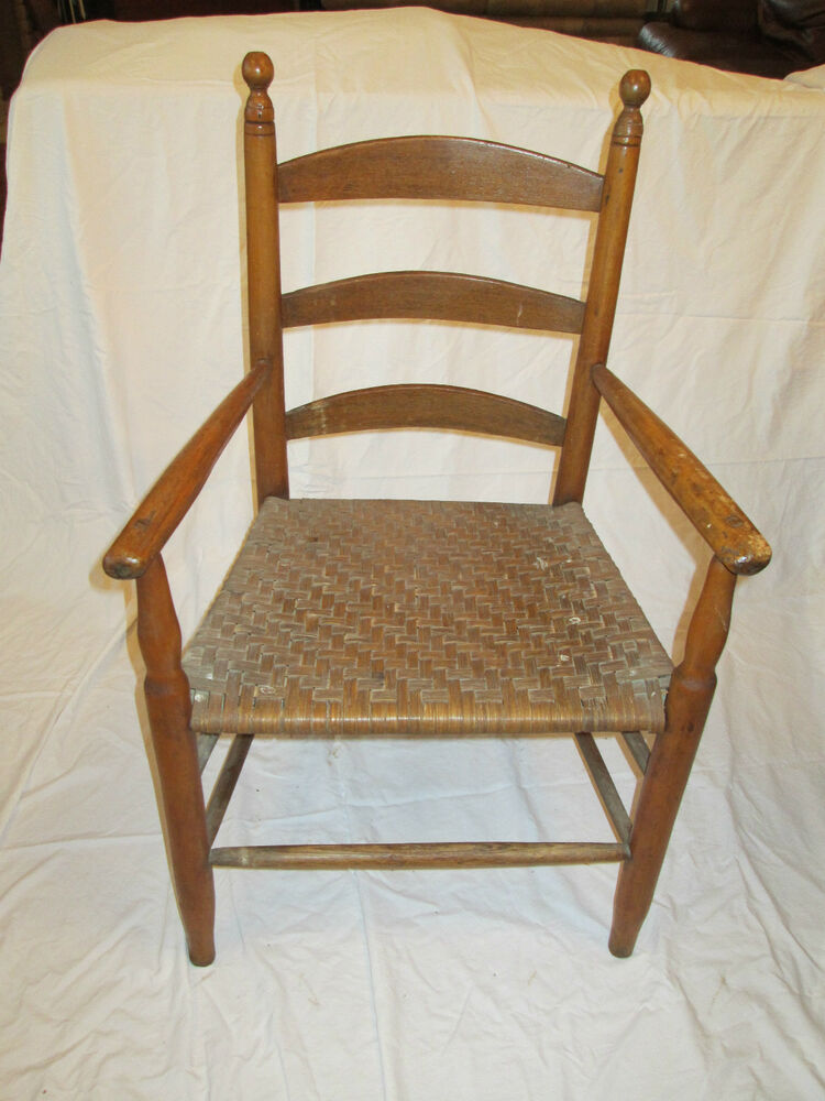 Ladder back chair ebay Ladder back chairs