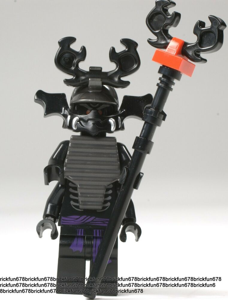 LEGO Ninjago New Lord Garmadon 4 arms minifigure 70505 ...