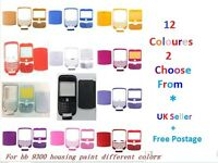 5 PC Housing Case Blackberry Curve 9300 9330 Faceplate Keypad Back Cover