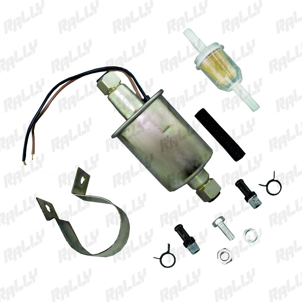 Electric Fuel Pump For Carbureted Cars