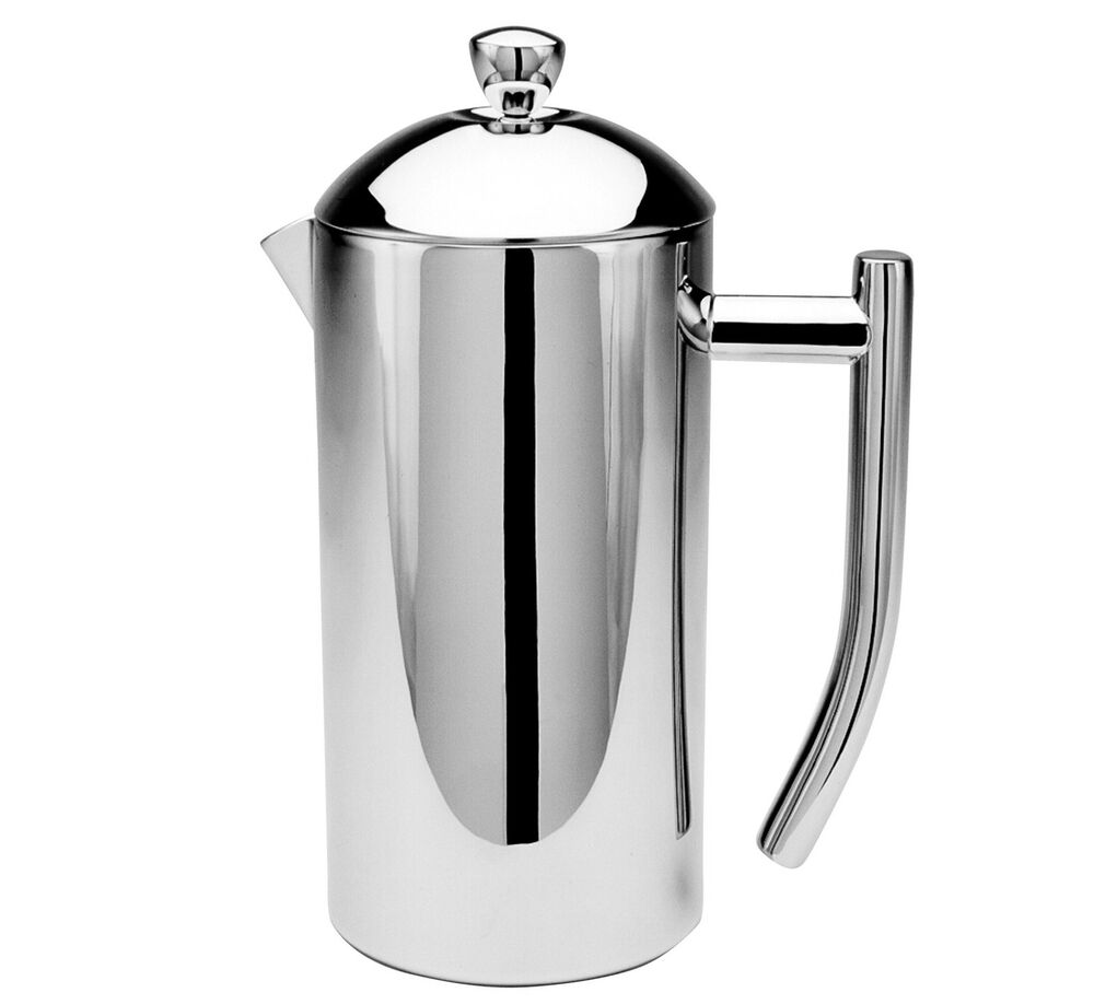 frieling mirror finish stainless steel french press coffee maker 16 oz 728547001020 ebay. Black Bedroom Furniture Sets. Home Design Ideas