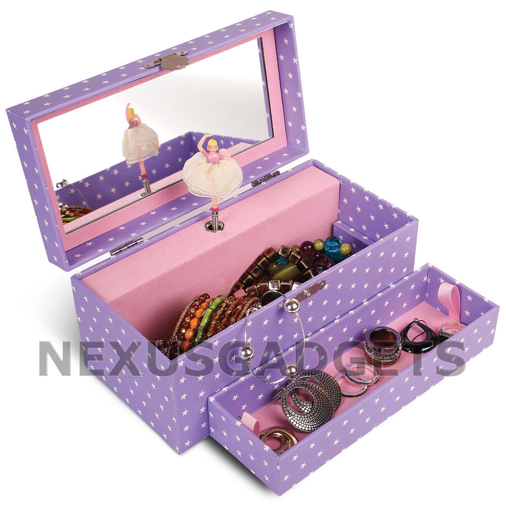 Ballerina jewelry box girls first music spinning dancing for Amazon ballerina musical jewelry box