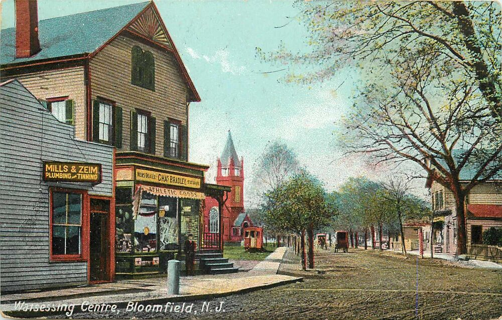 Stores at Watsessing Centre BLOOMFIELD NJ Historic