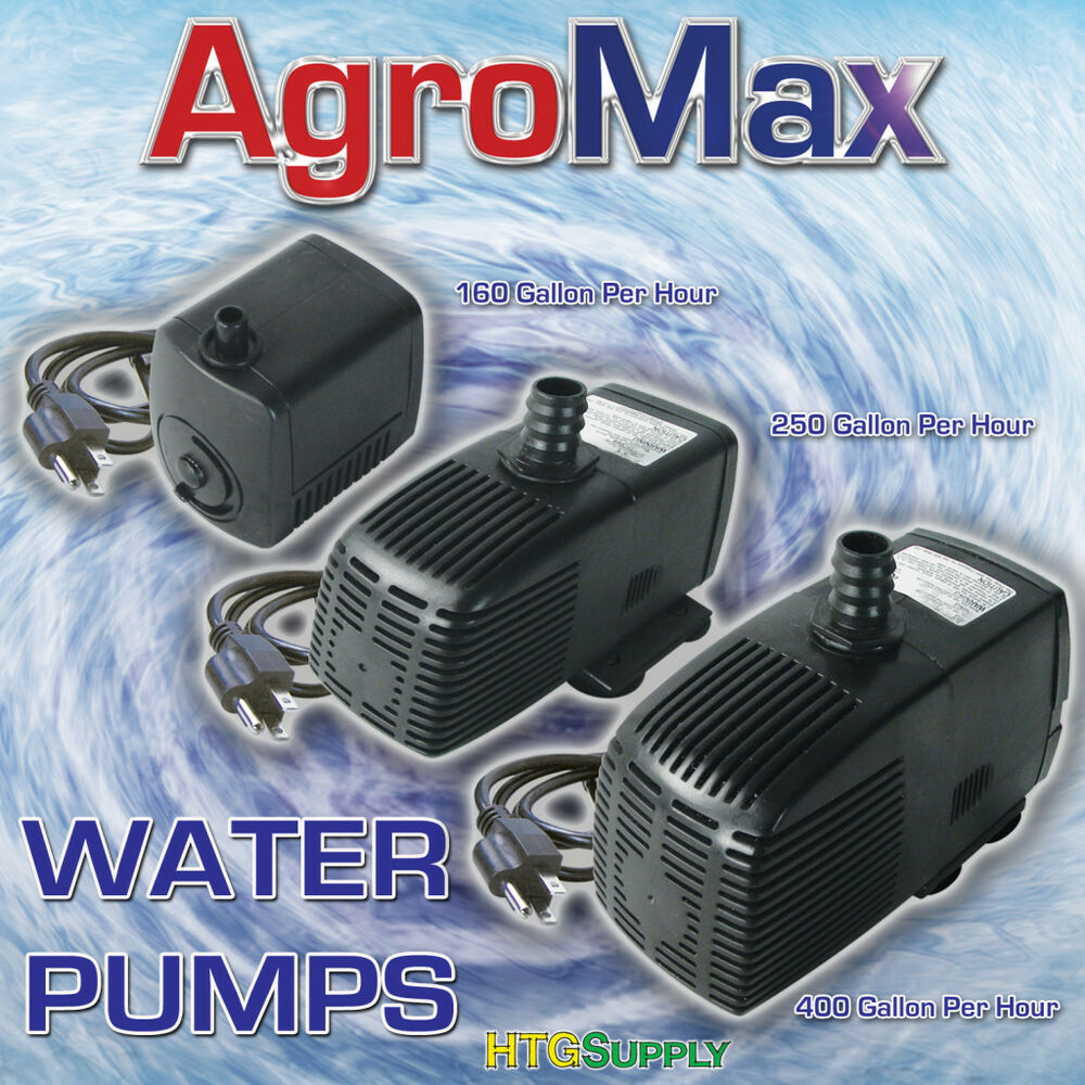 Submersible water pump hydroponics aquarium fountain pond for Hydroponic pump