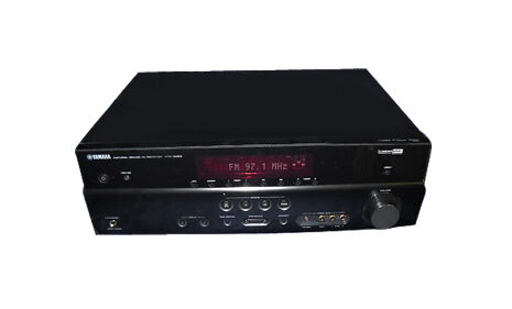 Yamaha htr 5063 7 1 channel 630 watt home theater receiver for Yamaha tv receiver