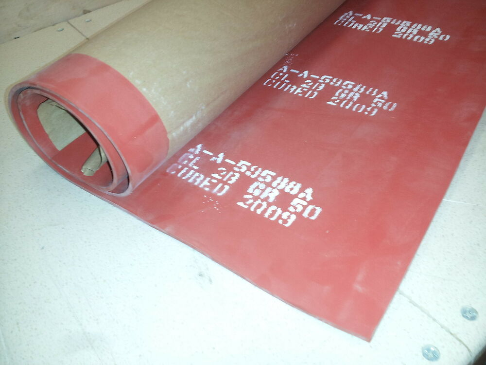 Nos Solid Silicone Rubber Sheet 3 X 3 X 1 8 Quot Zz R 765