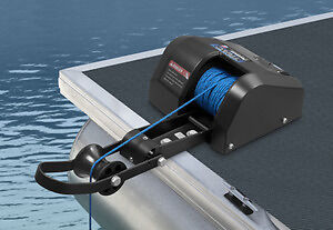 Trac Pontoon 35 Electric Anchor Winch Deck Boat Freshwater
